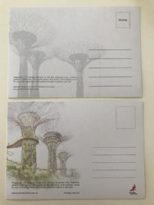 シンガポール ポストカード