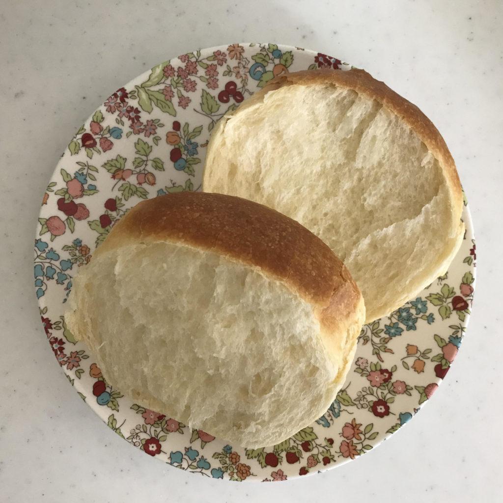 「ちょっとリッチな食パン」の盛り付け