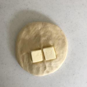 食パン バター追加