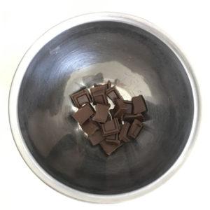 割った板チョコ