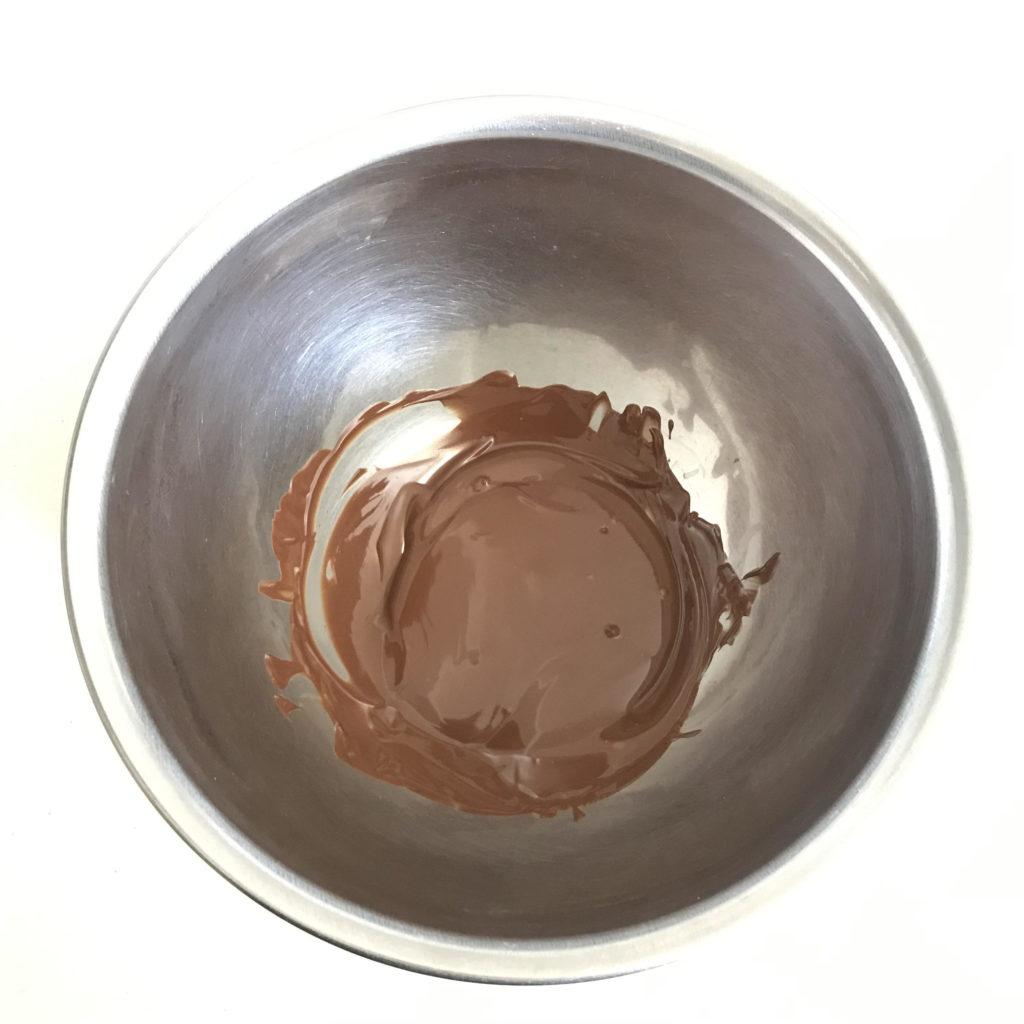 チョコ 湯煎後