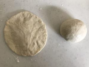 1人コロッケパン 成型