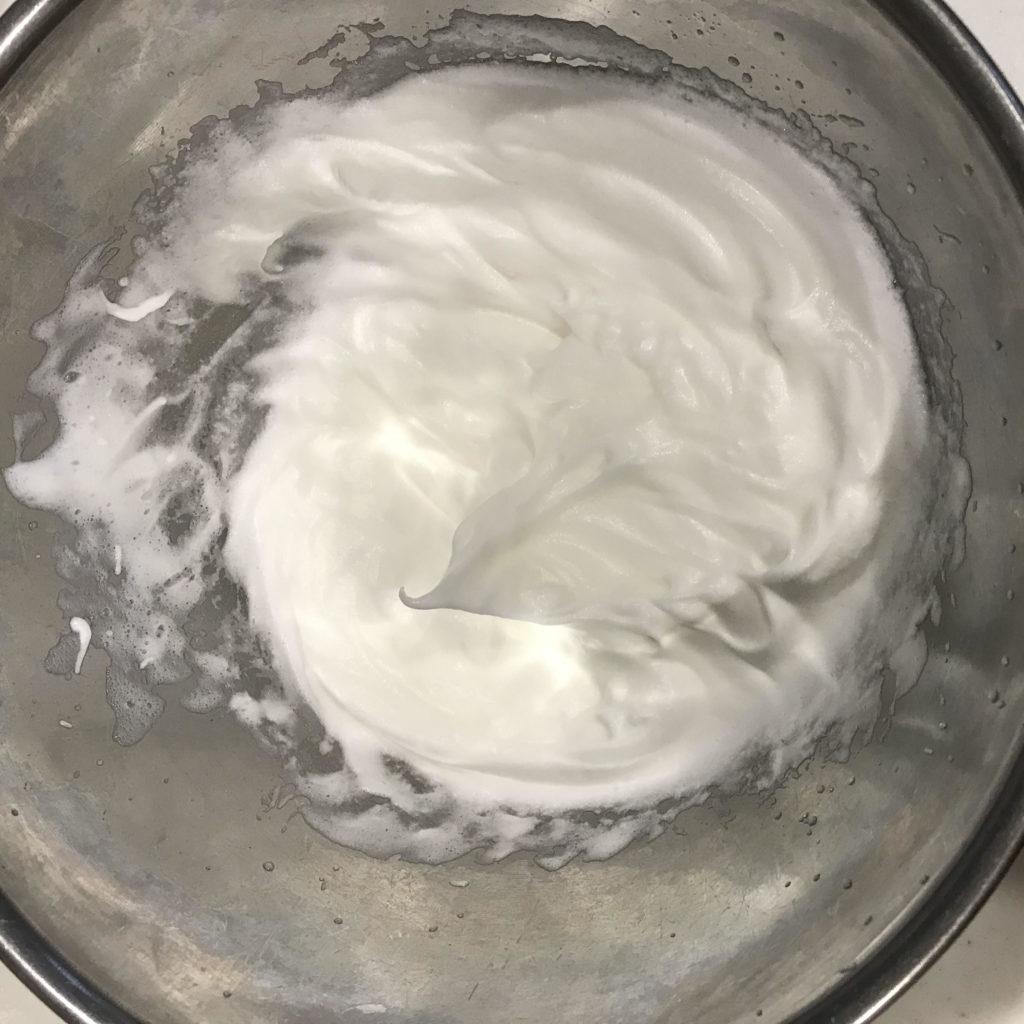 エンゼルフードケーキ メレンゲ