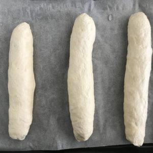 ベーコンエピの成形