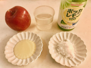 煮りんご 材料